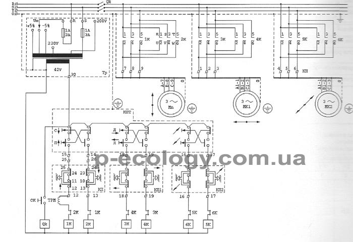 Схема злектрооборудования